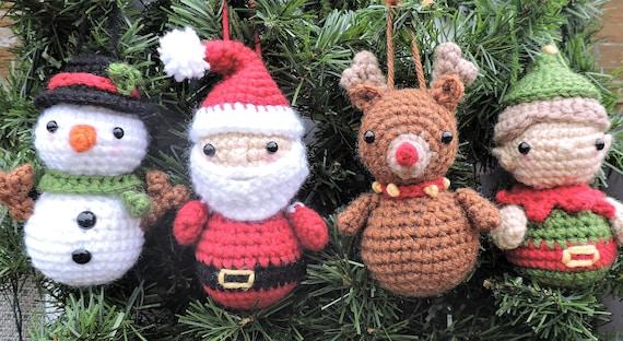 Christmas Crochet Pattern Christmas Ornament Crochet Pattern