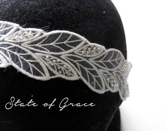Vine leaf headband
