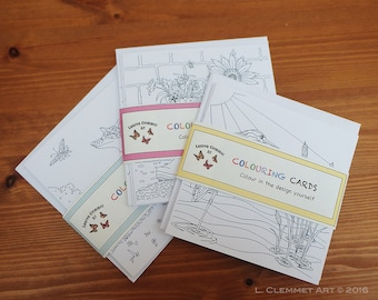Colouring Cards
