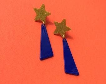 Shooting Star Earrings