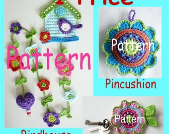3 Patterns, One Price UK TERMINOLOGY  (Instant Download)