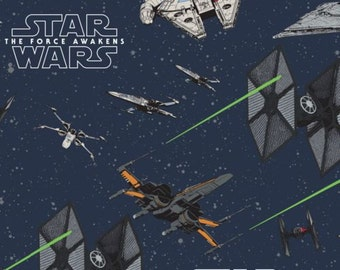Star Wars: The Force Awakens-Camelot Cottons-BTY
