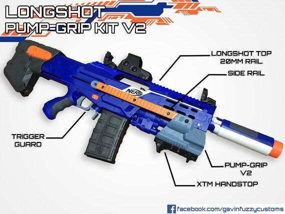 SG Nerf: Nerf Longshot CS-6 (Yellow) - Review!
