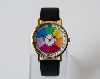 Womens Watch - Wrist Watch - Ladies Watch - Boutet's Color Wheel