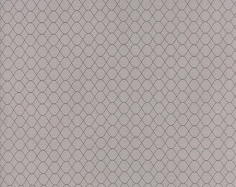 Pepper and Flax - Floral Wire in Granite Gray: sku 29047-12 cotton quilting fabric by Corey Yoder for Moda Fabrics