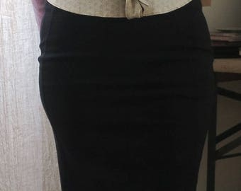 """Adjustable reversible Obi belt with Japanese cotton and silk """"Classy"""""""