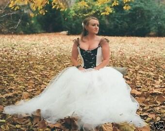 tulle bridal skirt, custom made bridal separate