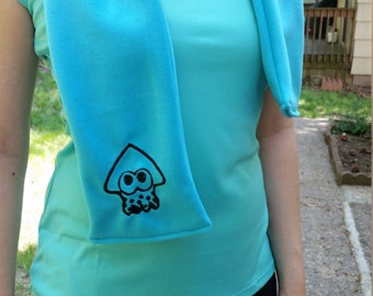 Fleece Splatoon Scarf