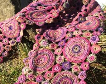 MYRTLE Crochet Scarf PDF Pattern