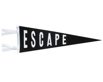 Felt Pennant - Escape