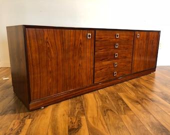 Rosewood Danish Modern Sideboard