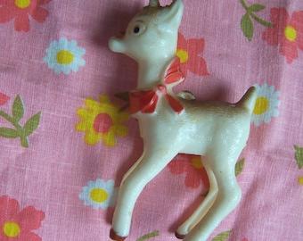 little plastic rudolph deer