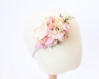 baby flower headband, flower crown headband, flower headband baby, toddler floral headband, flower crown baby, toddler crown, girls headband
