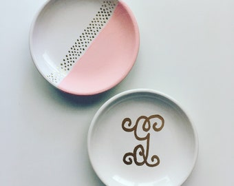 Jewelry Plates Handpainted