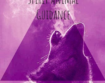 Spirit Animal Guidance - Intuitive psychic oracle card reading
