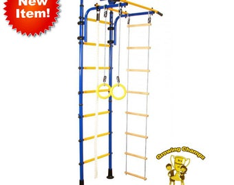 "Newly designed height !!!FOR LOWER CEILINGS!!! Indoor playground (Jungle Gym) ""Athlete"""