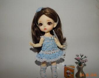 "PukiFee Aquarius Lati Yellow 15-16 сm BJD Set ""Gentle airiness"" for dolls of Tiny format"