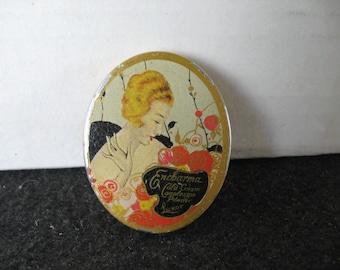 Vintage~LUXOR ENCHARMA~Complexion Powder Tin