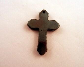 Hemalyke cross charm pendant