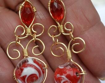 wire beads Murano