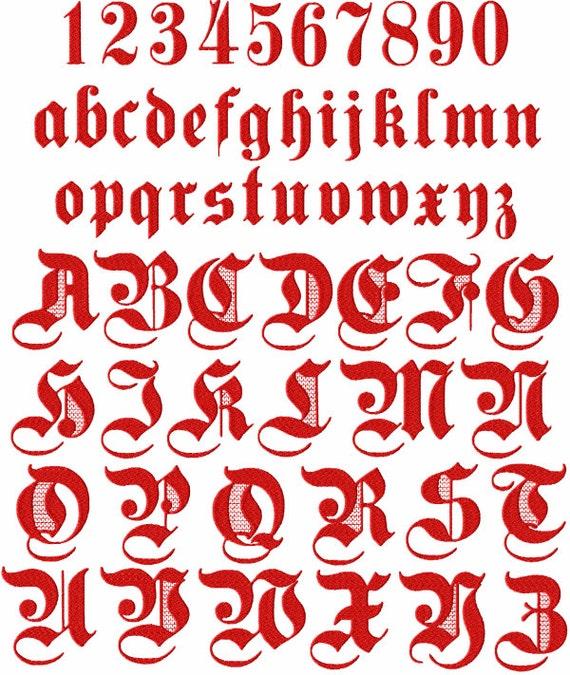 Gothique 2 alphabet 26 majuscules les 10 chiffres et les 26 vous aimez cet article thecheapjerseys Image collections