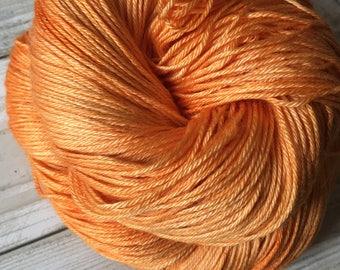Starburst - Hand Dyed 50/50 Silk Merino Sock Yarn - 100g / 400m