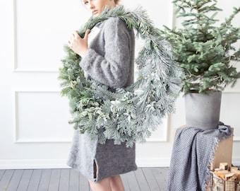 Boiled wool gray leg warmers, felted organic wool leggings, knit leg warmers, knit accessories womens