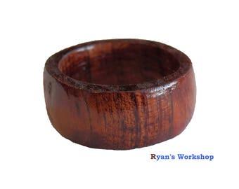 Red Cedar Ring Wooden Jewellery