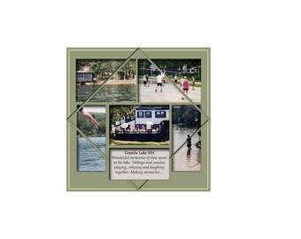 12 x 12 Digital Scrapbook Template (104)