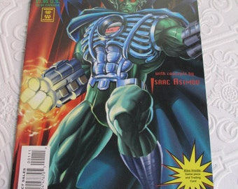 LEONARD NIMOYS PRIMORTALS Vintage Comic Book 1995 Issue One with Trading Card