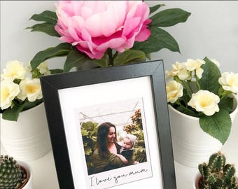 Personalised Polaroid Gift, Mothers Day Print, Personalised Mother's Day Gift, Mothers Day Personalised