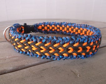Fireside Glow Paracord Dog Collar