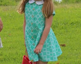 Love From Grandma Vintage Style Girls Dress Pattern
