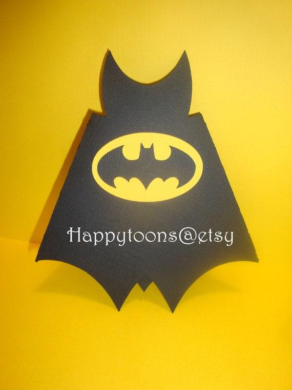 Batman Geburtstag Partei Einladungen Satz von 8-Superheld