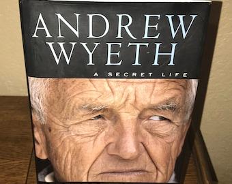 Andrew Wyeth: A Secret Life by Richard Meryman-Hardback Book-1st Ed/1st Printing, 1996