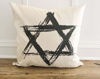 Star of David Pillow Cover (Single)