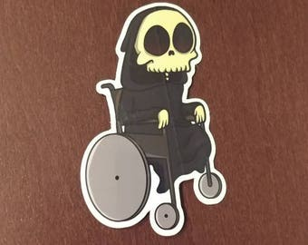 Death is Too Slow Sticker