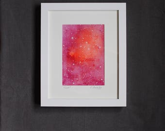 "Framed Mixed Media ""Lux"""