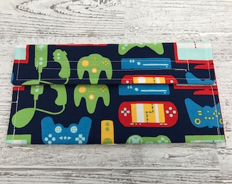 Gamer coupon organizer, money holder, pencil pouch
