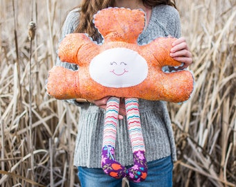 Quirky cloud pillow