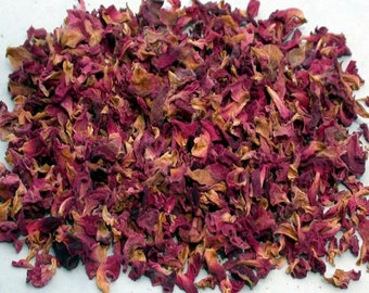 Red Rose Petals (Dried) For Bath Teas, Skin, Oil Infusion
