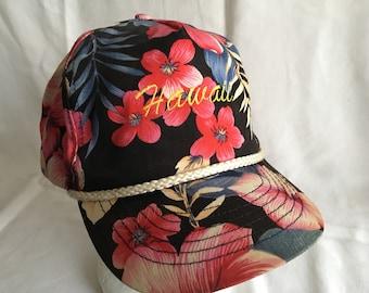 Vintage Hawaii baseball cap-Aloha