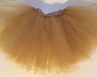 Handmade Gold Star Tutu Skirt