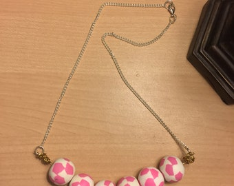 1 Polymer Clay Beaded necklace