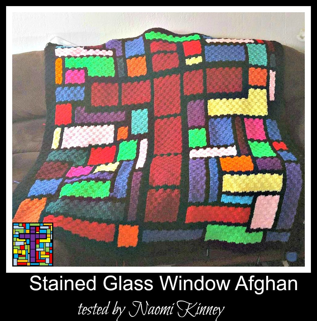 C2C Graph, Stained Glass Cross Afghan, C2C Graph, and Word Chart ...