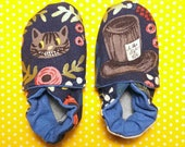 Newborn slippers, vegan, ...