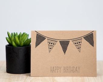 Birthday Bunting Card