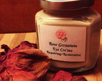 Rose Geranium Eye Cre'me