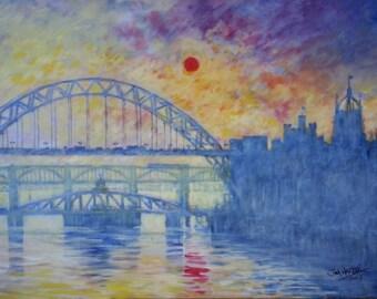 Magnet Monet on Tyne