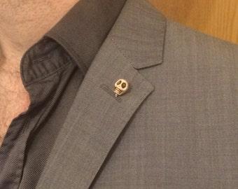 Skull Lapel Pin (Yorick Stick Pin)